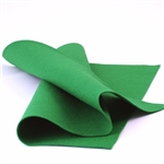 Green Wool Felt Sheet
