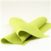 Green Pear Wool Felt Sheet