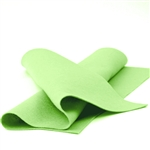 Granny Smith Wool Felt Sheet