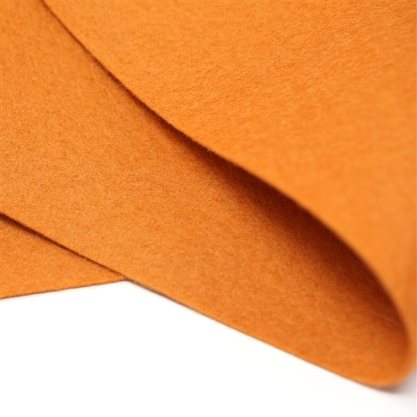 Ginger Wool Felt Sheet
