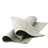 Heather Gray Wool Felt Sheet