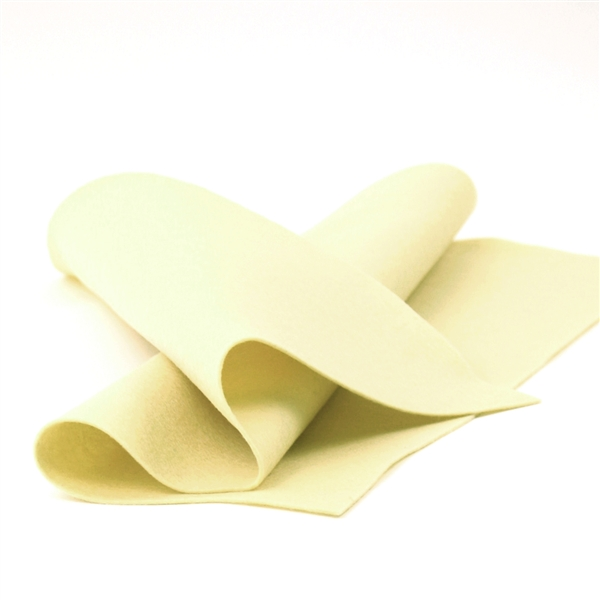 Light Yellow Wool Felt Sheet