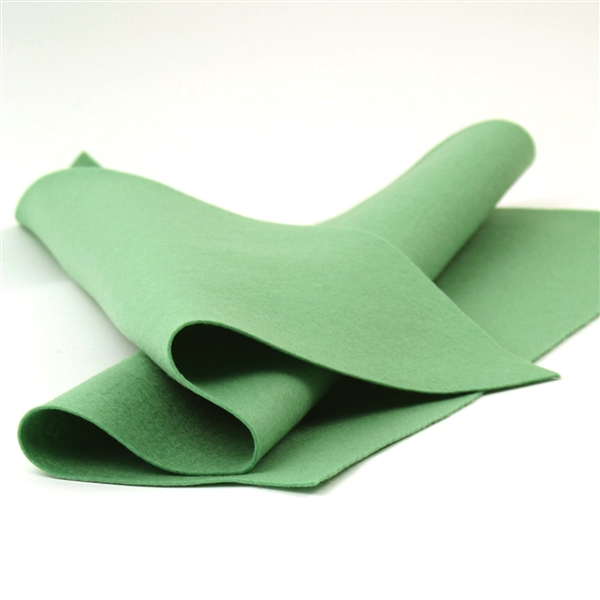 Mint Wool Felt Sheet