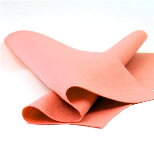 Papaya Wool Felt Sheet