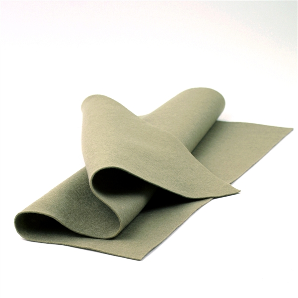 Taupe Wool Felt Sheet