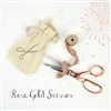 Rose Gold Scissor