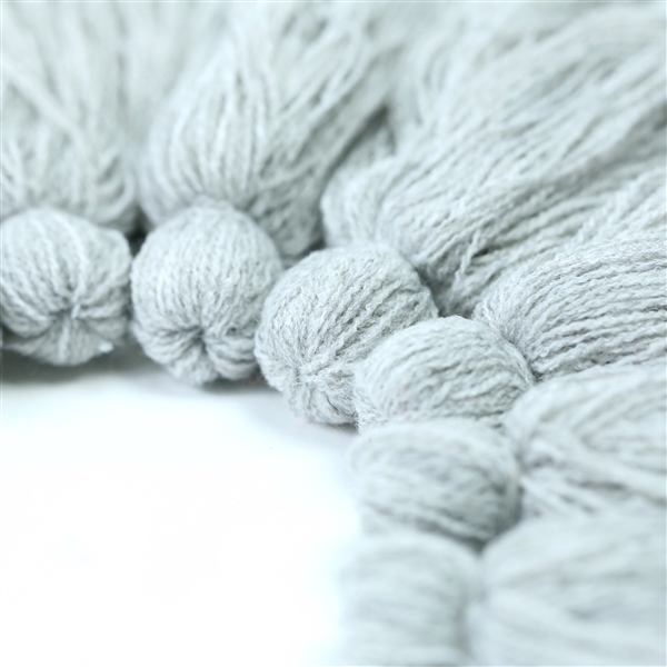 T57 Heather Gray Tassel