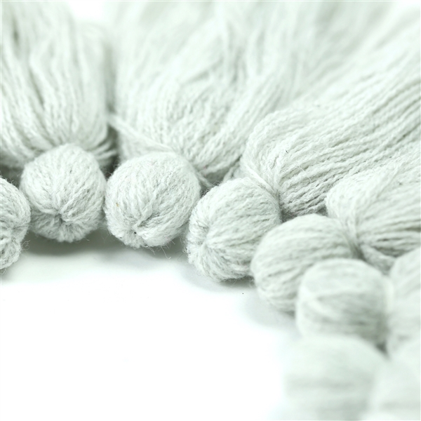 T58 Heather Silver Tassel