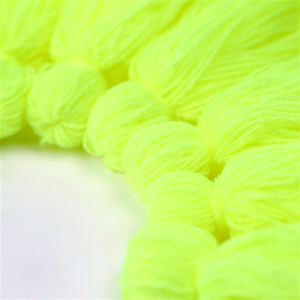 T68 Neon Yellow Tassel