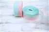 Sheer Aqua Ribbon