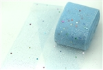 Baby Blue Confetti Tulle