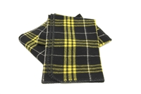 "Officially Licensed Appalachian State University Tartan Heritage Blanket.  Wool - Made by Woolrich. Measures 54"" x 72""."