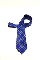 Christopher Newport University Tartan Satin Tie