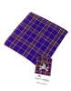 East Carolina University Tartan Silk Pocket Square