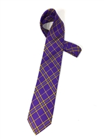 East Carolina University Tartan Silk Tie X-Long