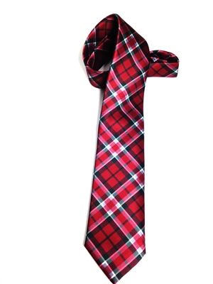 Eastern Kentucky University Satin Tartan Tie