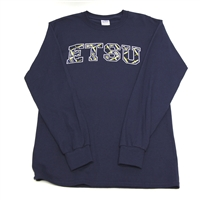 East Tennessee State University Long Sleeve T-shirt