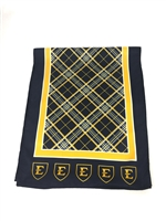 East Tennesee State University Tartan Poly Luxury Scarf