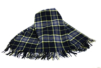 East Tennessee State University Tartan Throw