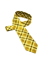 Georgia Tech Tartan Satin Tie