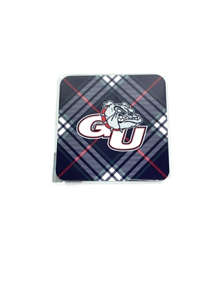 Gonzaga University Tartan Coaster Set - 4 Pack