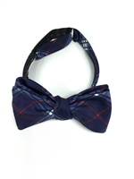 Gonzaga University Tartan Satin Bow Tie