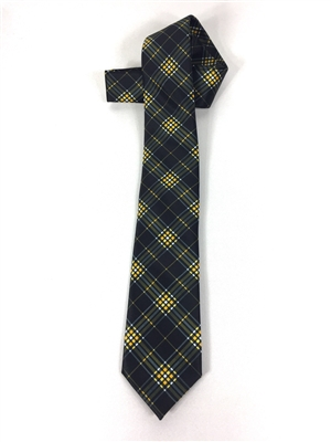 "Northern Kentucky University Tartan Satin Tie.  Measures 56"" x 65"".  Dry Clean Only.  Made in USA.  Perfect for special events, game day, church, reunions or any day you want to show your university pride!"