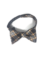 Purdue University Tartan Silk Bow Tie