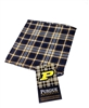 Purdue University Tartan Silk Pocket Square