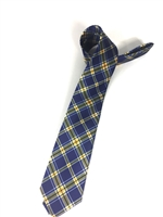University of North Georgia Tartan Satin Tie