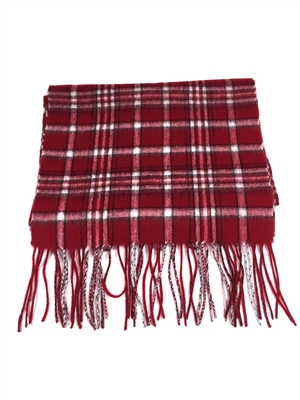 University of Alabama Tartan Cashmere Scarf