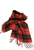 University of Georgia Tartan Lambswool Scarf