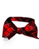 University of Georgia Tartan Silk Bow Tie