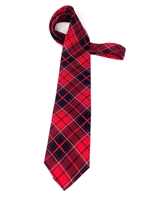 University of Georgia Tartan Silk Tie