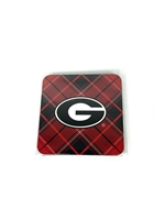 University of Georgia Tartan Coast Set 4-Pack