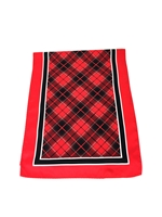 "Officially Licensed University of Georgia Tartan Luxury Scarf.  Measures 60"" x 11 3/4"".  Dry Clean Only."