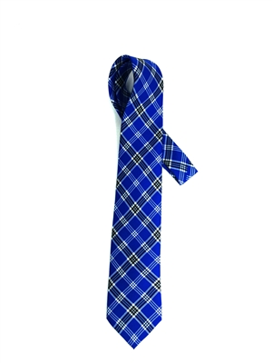"Officially Licensed University of Kentucky Tartan Silk Tie.  Measures 58"" x 65"".  Dry Clean Only.  Made in USA.  Perfect for game day, church, reunions, or any day you want to show your university pride!"