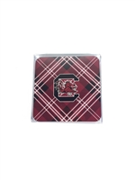 University of South Carolina Tartan Coaster 4-Pack