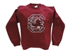 University of South Carolina Tartan Crew Neck Sweatshirt