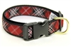 University of South Carolina Tartan Dog Collar