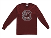 University of South Carolina Tartan Long Sleeve T-shirt