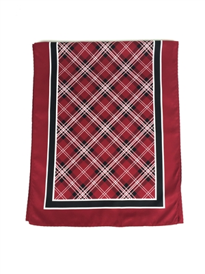 University of South Carolina Tartan Luxury Poly Scarves