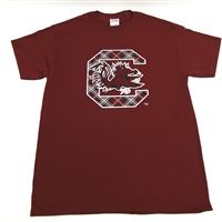 University of South Carolina Tartan Short Sleeve T-shirt