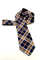 University of Virginia Tartan Satin Tie