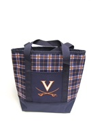 University of Virginia Tartan Tote