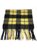 "Officially Licensed Virginia Commonwealth Tartan Cashmere Scarf.  Measures 12"" x 78"" plus fringe.  For men and women in the popular length for knotting around the neck for style and warmth."
