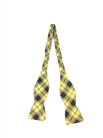 "Virginia Commonwealth Tartan Silk Bow Tie, 100% Silk.  Adjustable to 18"".  Dry Clean Only.  Made in America."