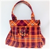 Virginia Tech Tartan Kiltie Ladies Handbag