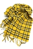West Virginia University Tartan Lambswool Scarf