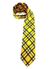 West Virginia University Tartan Silk Tie
